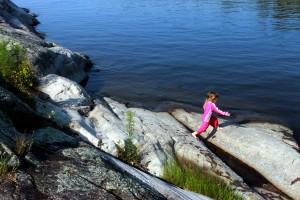 rock jumping / rejoicing hills